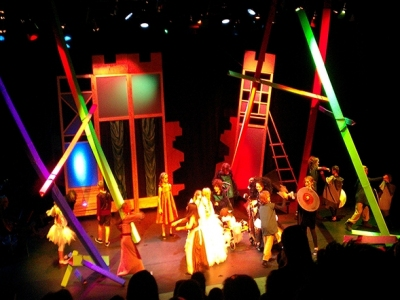Decor kindermusical | Rock en rolstoelproducties