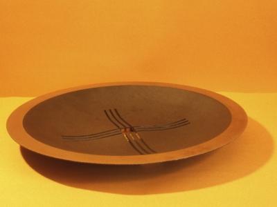 Schaal  | gietijzer |  diameter 55 cm