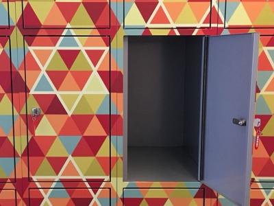 patronen voor lockers | kantoor JMW Amsterdam