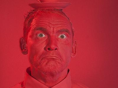 RED | hoogglans laminaatprint | 50 x 75 cm | 10 stuks